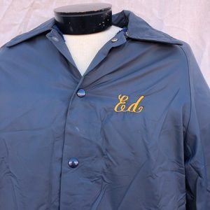Other - Vintage Consolidated Fire Lined Windbreaker